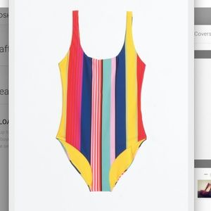 & Other Stories Striped One Piece